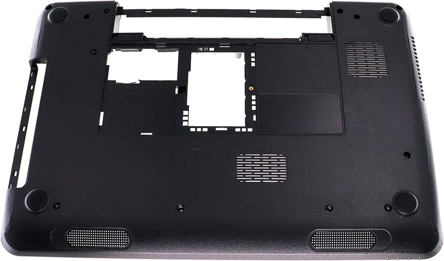 Lower Bottom Base Cover Shell Replacement Compatible with DELL 15R M5110 N5110 for Bottom Base Case Cover W/Rubber Feet P/N: 005T5