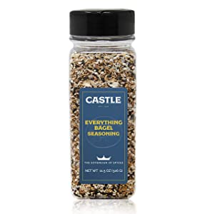 Everything Bagel Seasoning XL, Premium Restaurant Quality, Multi Seasoning Shaker with Sesame, Onion, Garlic, Poppy in Seasoning Spice Blend, Kosher (11.5 oz)