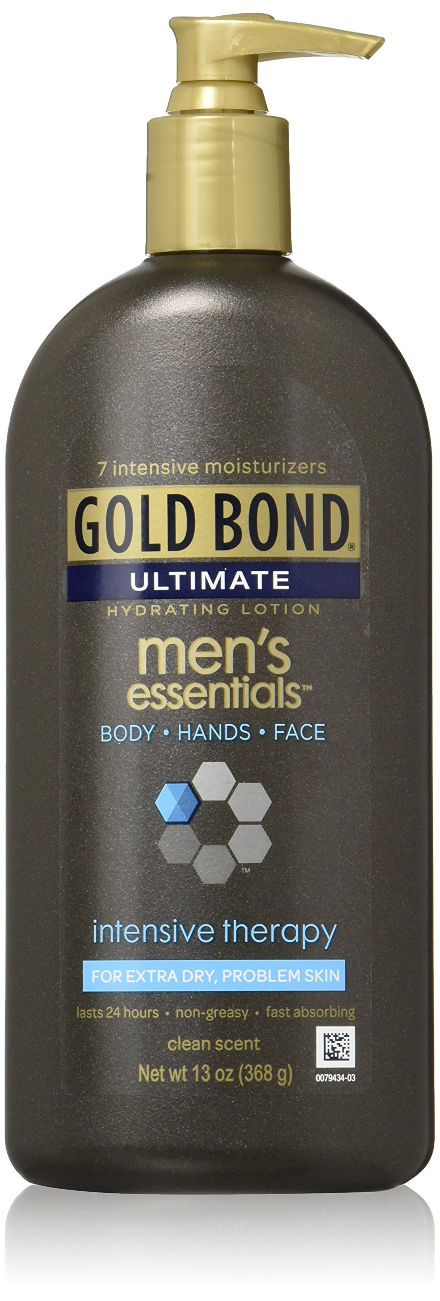 Gold Bond Men's Essentials Intensive Therapy Lotion, 13 Ounce