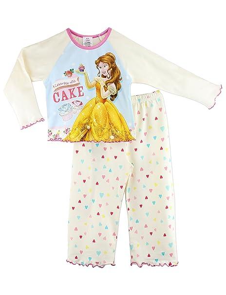 Character ropa de descanso para niñas pijama de las princesas Disney Belle a partir de 18