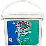 "Clorox 31547 Disinfecting Wipes, 7"" x 7"", Fresh Scent, 700/Bucket"
