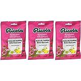 Ricola Cough Suppressant Throat Drops, Honey Lemon with Echinacea, 19 Drops (Pack of 3)