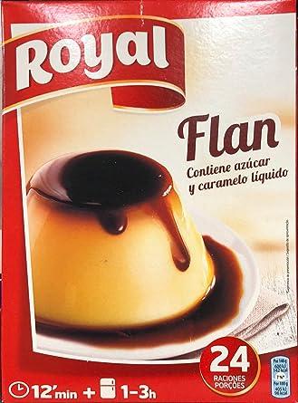 Royal Flan Familiar - Paquete de 6 x 93 gr - Total: 558 gr