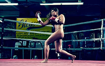 Was Sexy nude women boxing are
