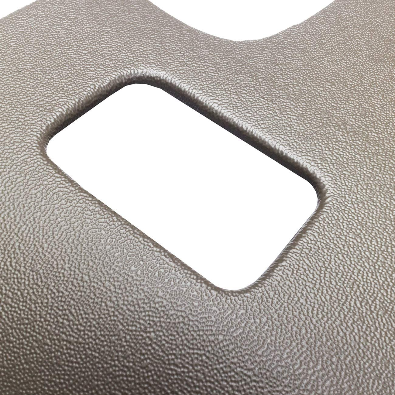 KARPAL Molded Dash Cover With Speaker Holes Compatible With 2007-2014 GM SUVs Avalanche Suburban Tahoe GMC Sierra Yukon Khaki