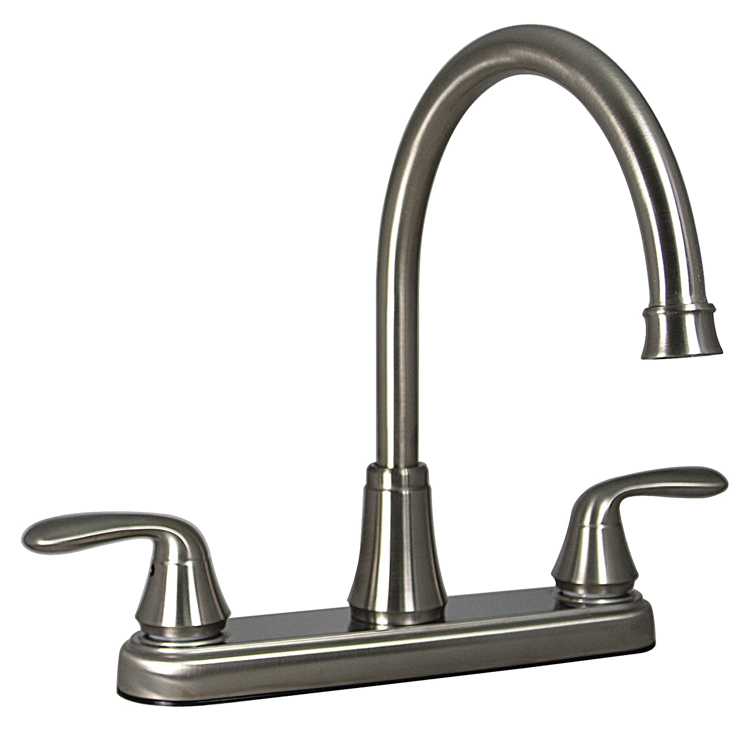 Phoenix PF231402 Two-Handle Kitchen High-Arc Faucet, Brushed Nickel