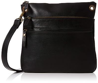 b1aa1897e74d Fat Face Women s Ada Cross-Body Bag Black (Black)  Amazon.co.uk ...
