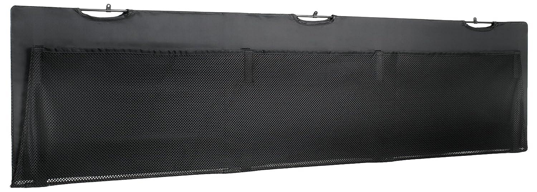 VIVO Black Under Desk Privacy & Cable Management Organizer Sleeve Wire Hider Kit Panel System - 60' Length (DESK-SKIRT-60)