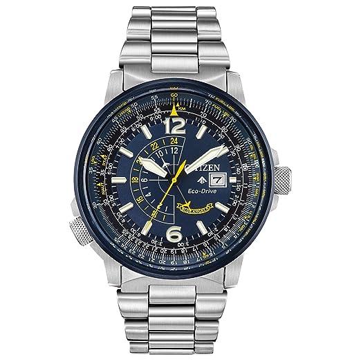 Citizen Promaster Reloj de Hombre Eco-Drive 42mm Correa de Acero BJ7006-56L: Amazon.es: Relojes