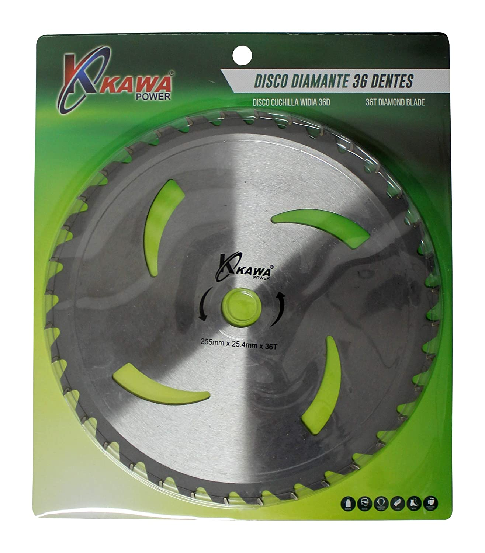 Kawapower KW042 Disco cuchilla de Widia con 36 puntas para ...