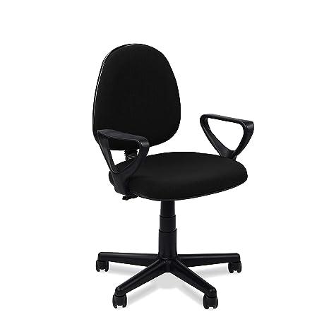 Adec - Danfer, Silla de escritorio, silla de oficina, silla de despacho, medidas: 54 x 79 - 91 cm.