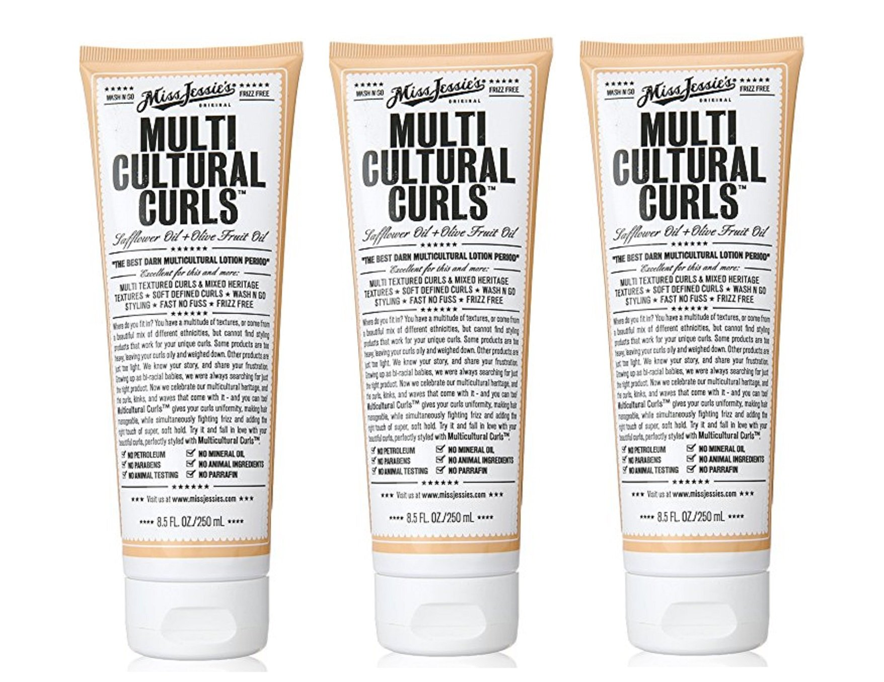 Miss Jessie multicultural Curls 8.5 (Pack of 3)