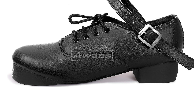 Awans , Chaussures de danse pour fille Noir Noir UK 12 SMALL KIDS