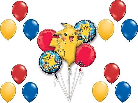 1 X Pokemon balloon Pikachu balloon Helium foil balloon Pokemon party balloons