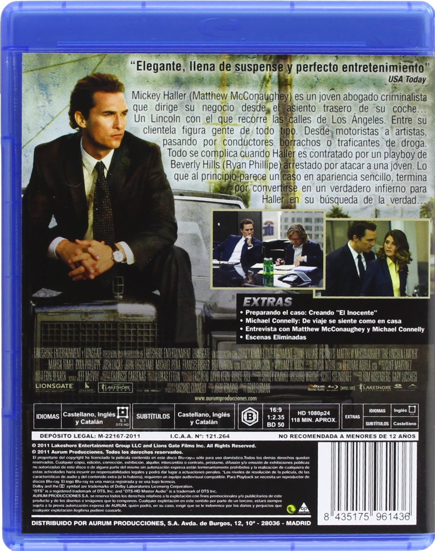 Amazon.com: El Inocente (Blu-Ray) (Import Movie) (European Format - Zone B2) (2012) Matthew Mcconaughey; Ryan Phillippe; B: Movies & TV