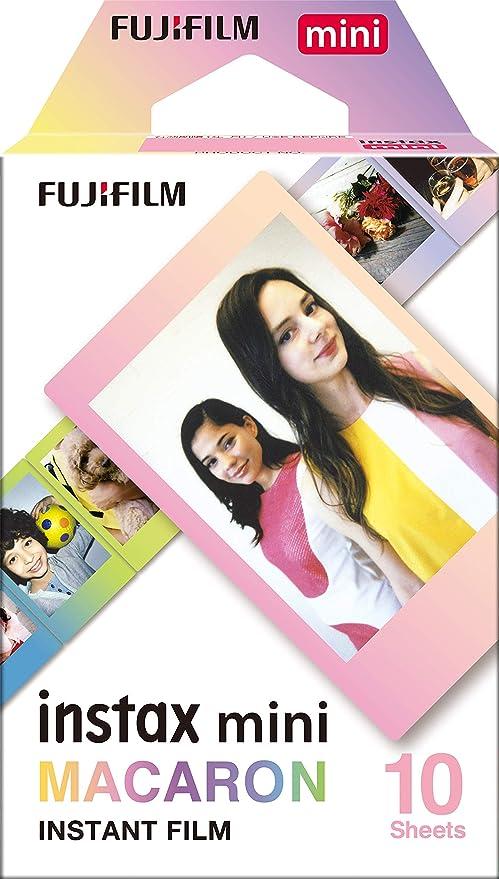 Fujifilm Instax Mini Macaroon - Pack de 10 películas instantáneas, multicolor: Amazon.es: Electrónica