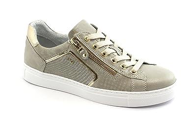 25d1eeeff5da Nero Giardini Black GARDENS 05262 Savanne Beige Schuhe Sports Turnschuhe  Bindern 37