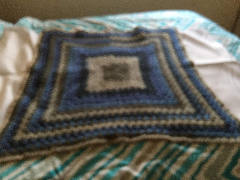 8e6f4bcf11bdf Amazon.com: Baby Blanket Crochet Blanket Granny Square Handmade Baby ...