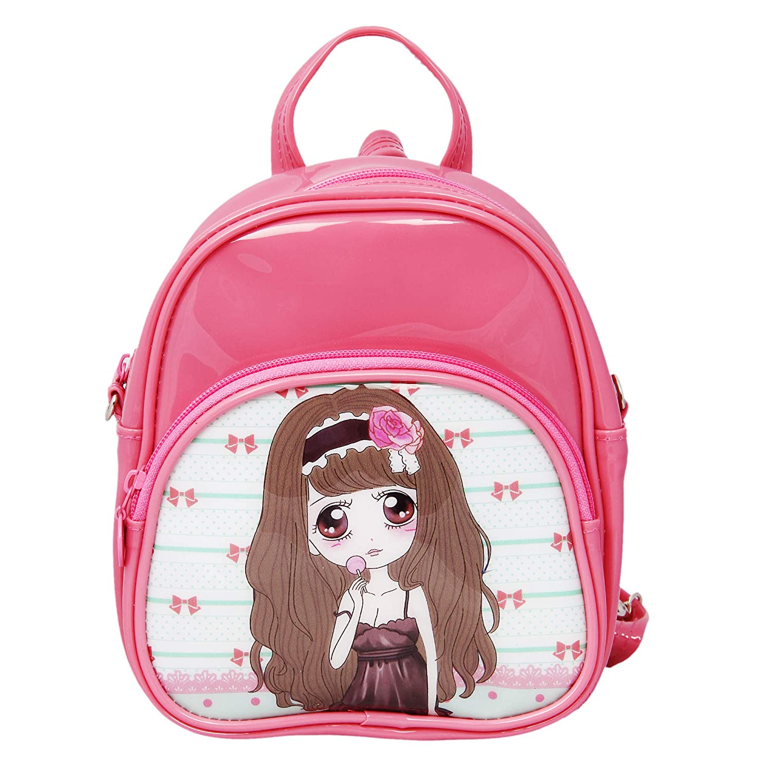 Buy Bagmire Trendy 3 Liters Peach Backpack Cum Sling Bag Online at Low  Prices in India - Amazon.in 850cce7336b9e