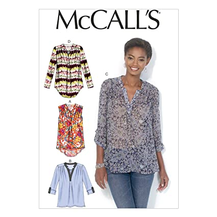 545e69428118a2 McCall's Patterns MC7094 ZZ,Misses Tops,Sizes  LRG(16-18)-XLG(20-22)-XXL(24-26): Amazon.co.uk: Kitchen & Home
