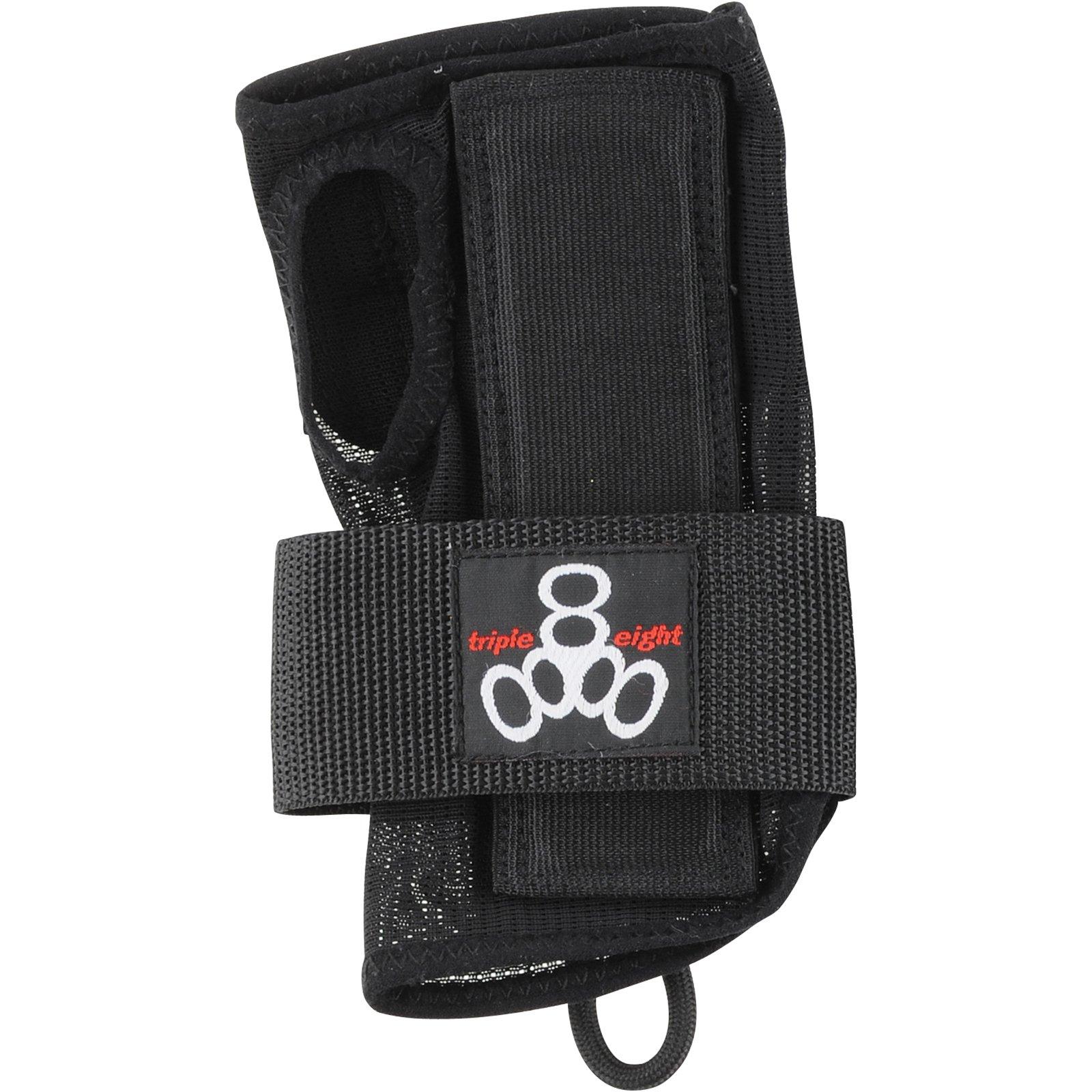Triple 8 Wristsaver Slide-On Black Junior Wrist Guards