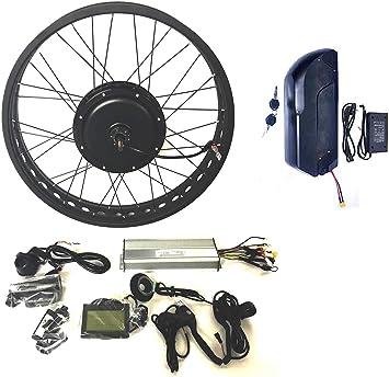48V1000W Hub Motor EBike Bicicleta ELÉCTRICA KIT DE CONVERSIÓN 4.0 ...