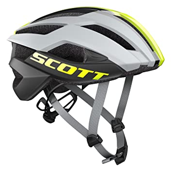 Scott Casco Arx Plus (CE) Grey/Yellow RC, M (55-