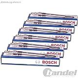 6x Glühkerze Original BOSCH Duraterm GLP031