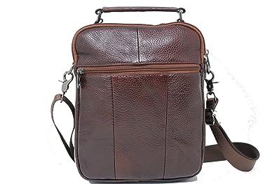 84e8ef7ef4 Frédéric Johns® - Sac porté épaule En Cuir Besace - Sac de Messager -  Porte-documents à ...