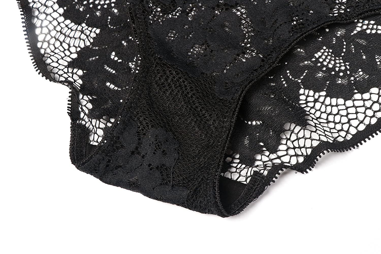 Bellismira unpadded mesh lace unlined bralette with embroidered