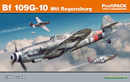 Amazon.com: EDU82119 Eduard Bf 109G-10 - Kit de montaje ...