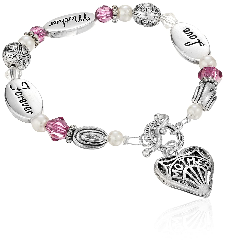 "Expressively Yours Bracelet Love Mother Forever, 8"""