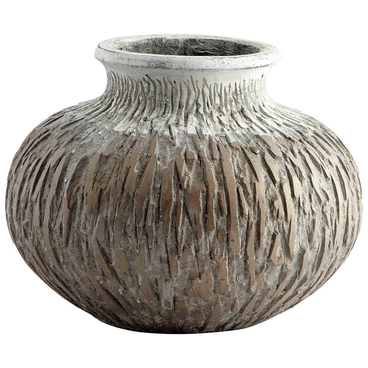 CYAN DESIGN 09615 Medium Acorn Planter, Golden Antique