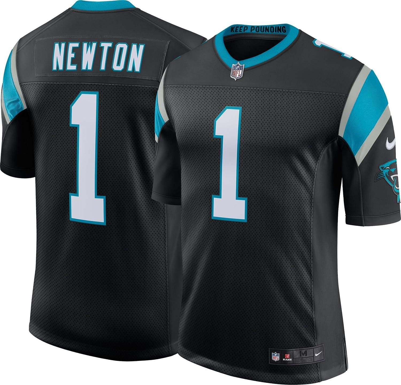 Nike Mens Carolina Panthers Cam Newton Classic Limited Player Jersey Black 915867 012 Medium