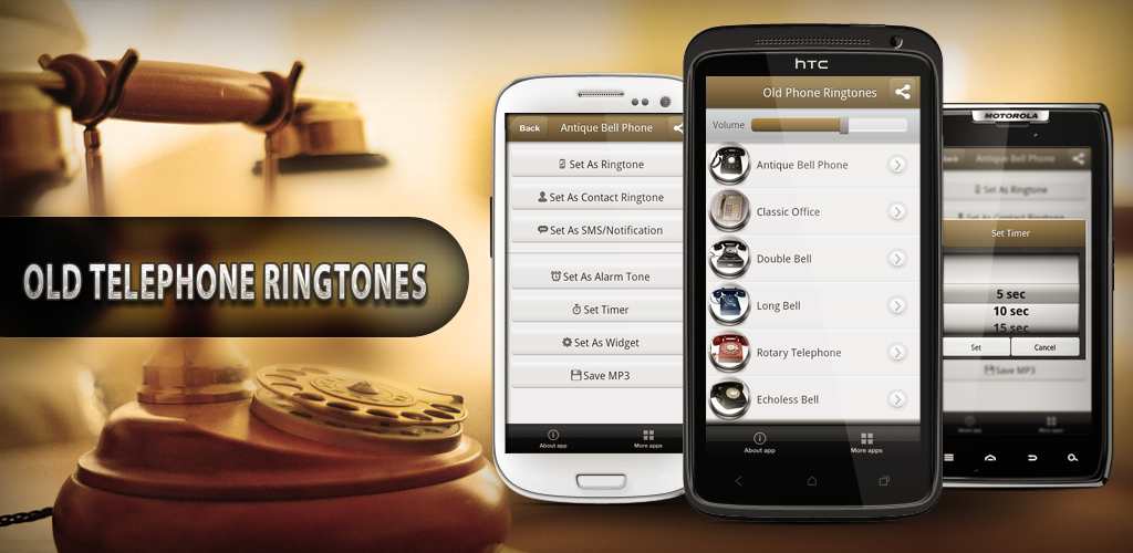 old telephone ringtones appstore for android. Black Bedroom Furniture Sets. Home Design Ideas