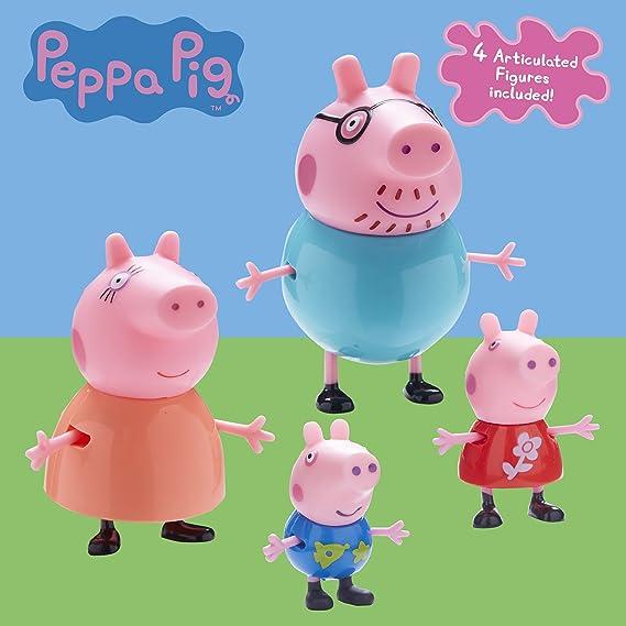 Peppa Pig Peppa Pig-6666 Pack 4 Figuras, Multicolor, 0 (6666 ...