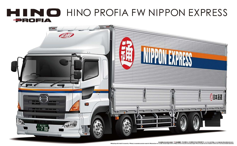1 32 Heavy Freight Series No.10 Hino Profia FW Nippon Express (Giappone import   Il pacchetto e il manuale sono scritte in giapponese)