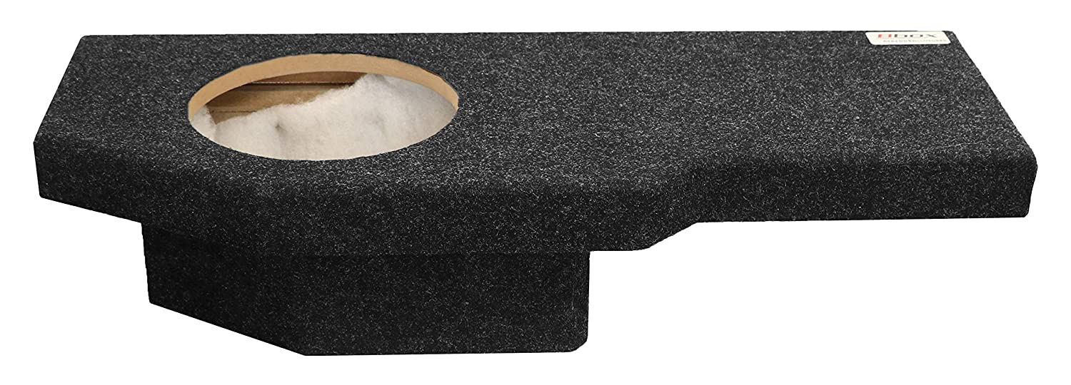Bbox A201 10cp Single 10 Sealed Carpeted Subwoofer 2012 Dodge Ram 1500 Sub Box Enclosure Fits 2002 2017 Quad Cab Car Electronics