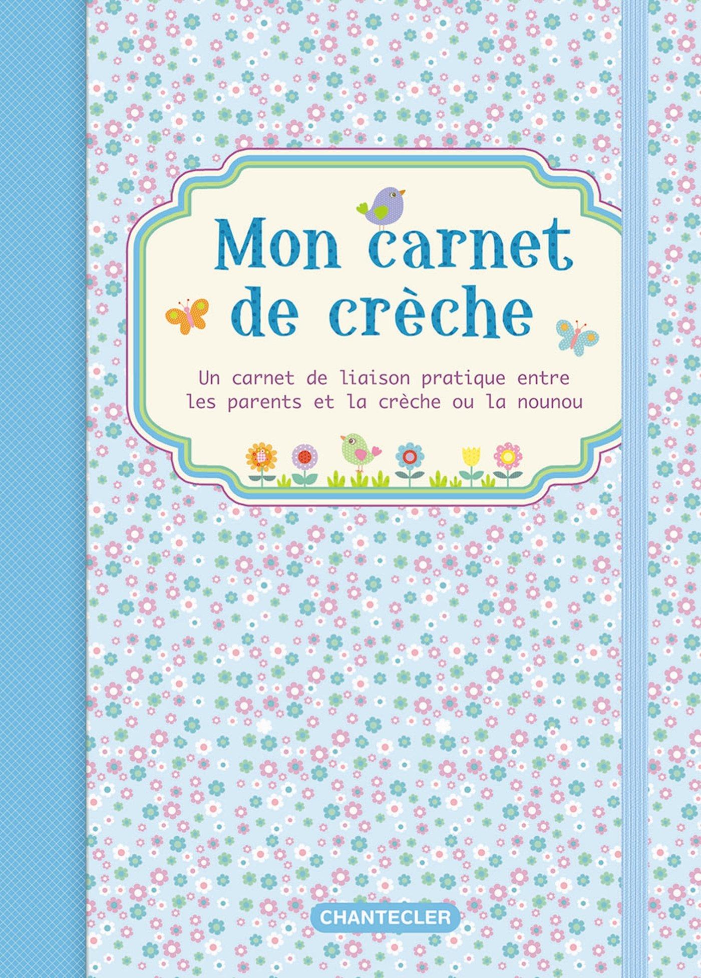 Assez Amazon.fr - Mon carnet de crèche (bleu) - Znu - Livres WA15
