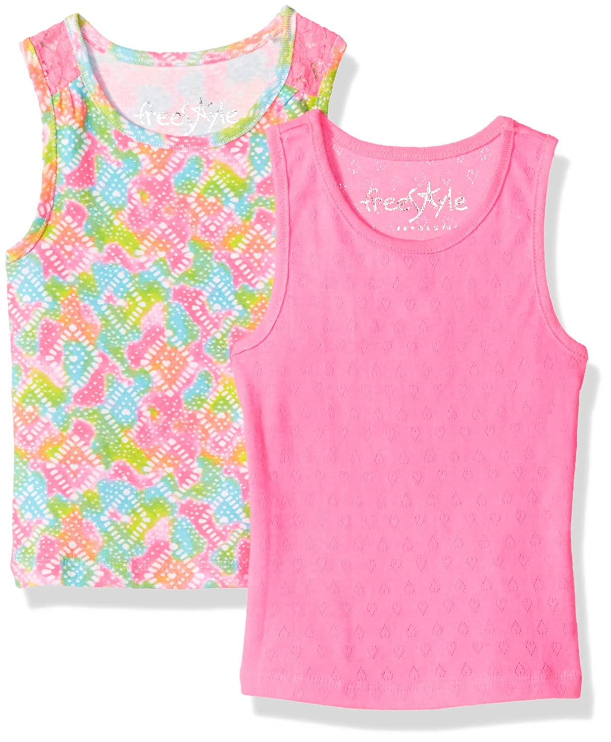 1fc9311aab060 Amazon.com: Freestyle Revolution Girls' Toddler 2pk Tie Dye ...