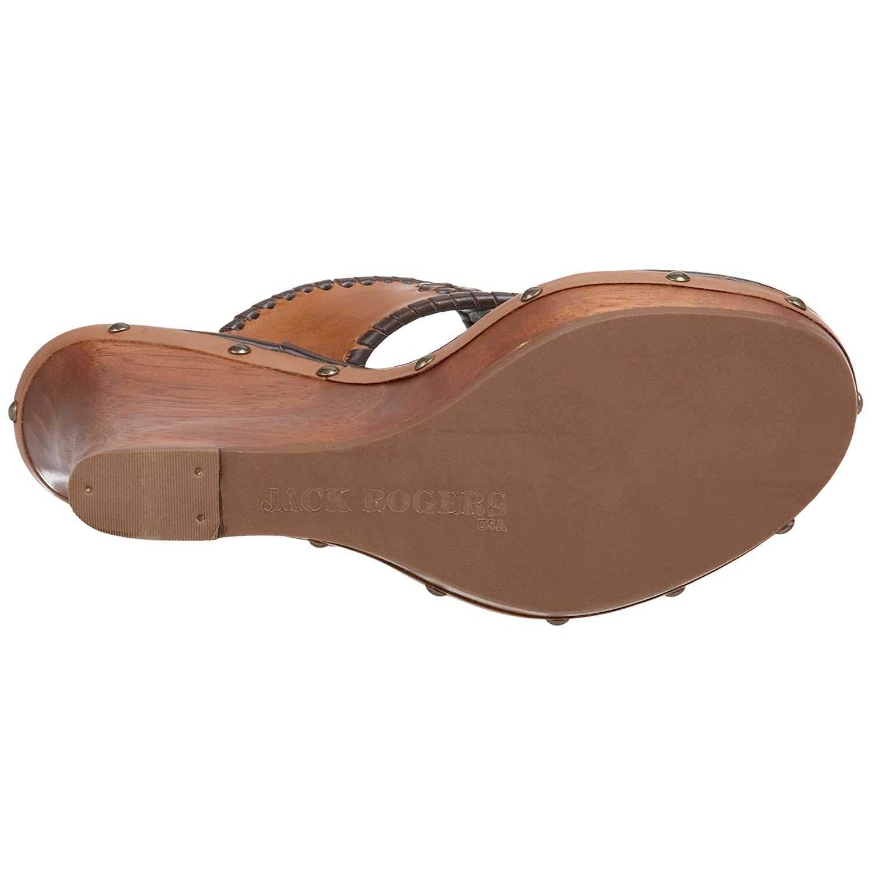 Jack Rogers Women's Marbella Wedge Sandal B002MXY2BQ 10 B(M) US|Dark Brown