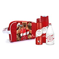 Old Spice Original Gift Set For Men - Travel Wash Bag