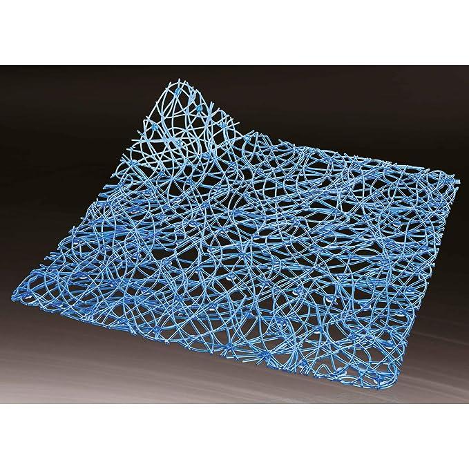 Sanixa LA0260 Hochwertige Design Duscheinlage Blau|Matte