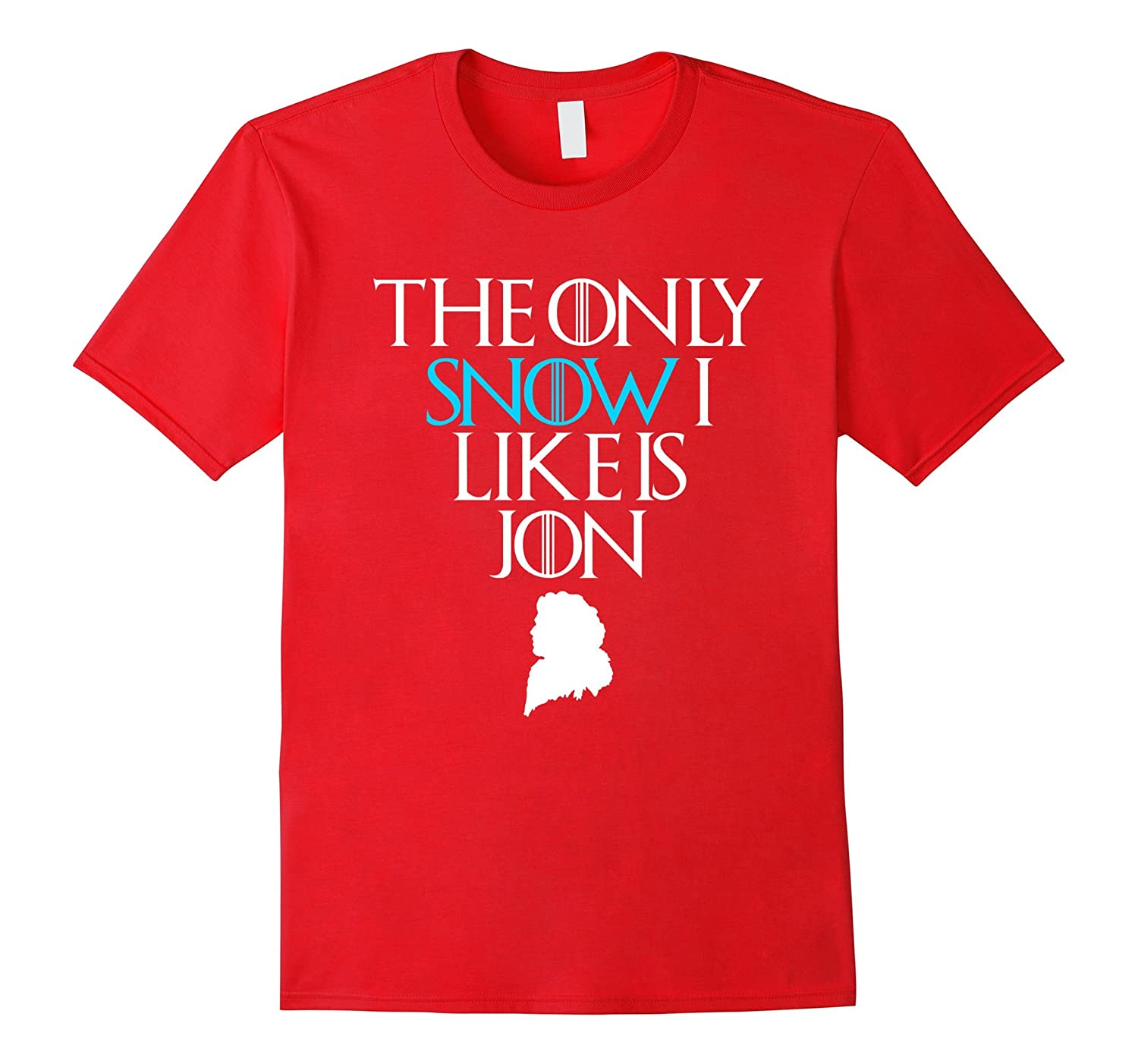 The Only Snow I Like is Jon Stylish Cotton TShirt-BN