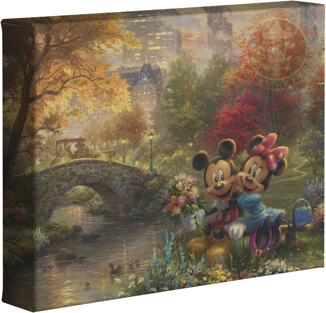 Thomas Kinkade Christmas Choice of 3-20 x 20 Gallery Wraps