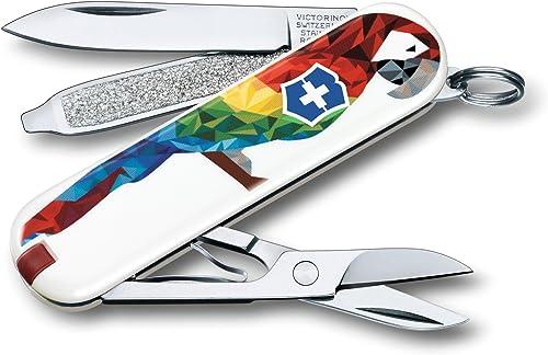 Victorinox Swiss Army Classic Sd Pocket Knife, Guacamaya