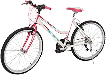 4cfa07ded Benotto MRDALP2621UNBL Bicicleta de Acero Rodada R26, Dama, Frenos V, 21  Velocidades
