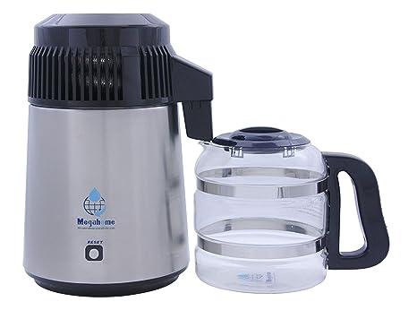 Amazon.com: Megahome destilador de agua, de acero inoxidable ...