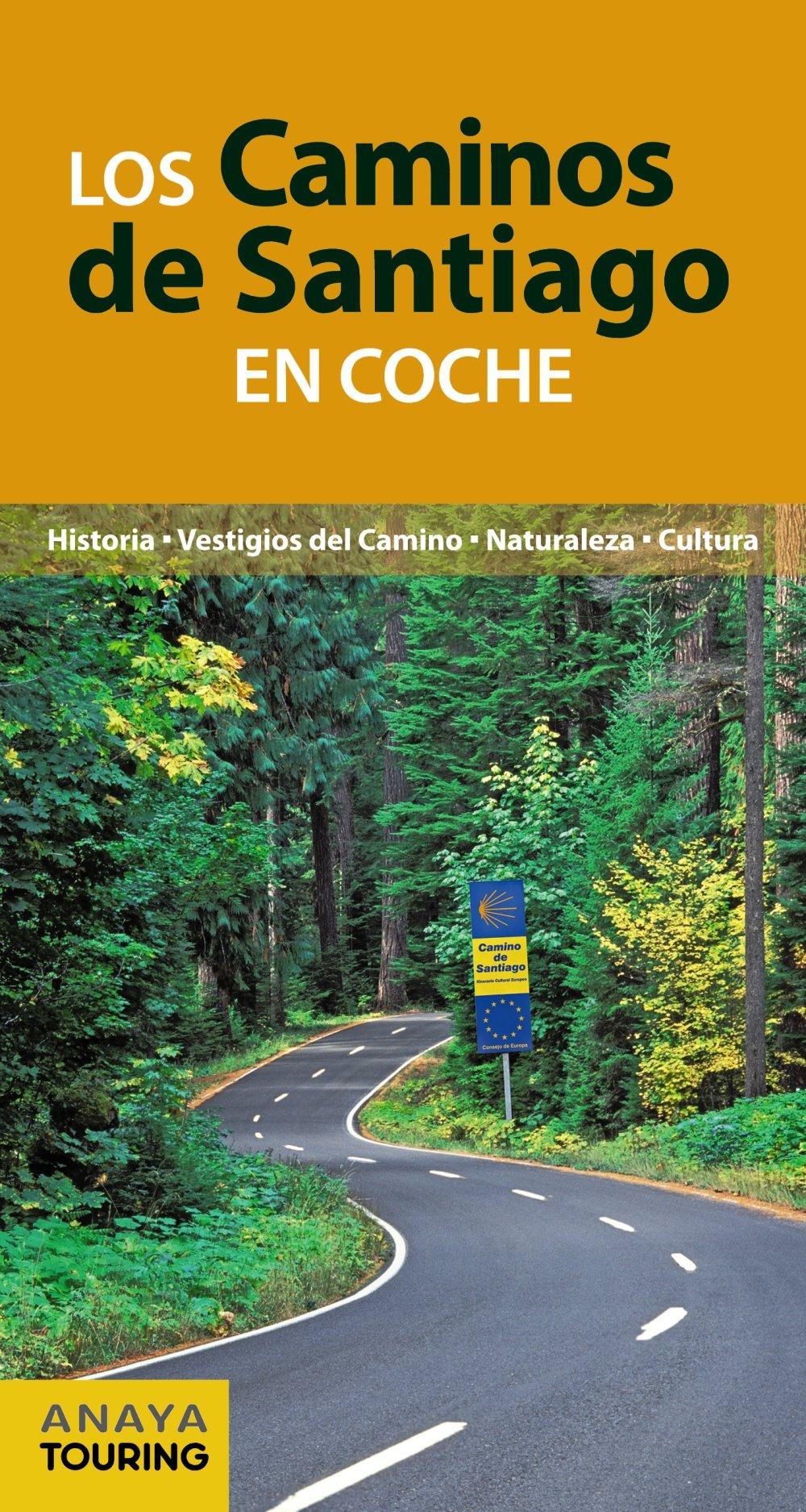 Los Caminos de Santiago en coche (Camino De Santiago): Amazon.es ...