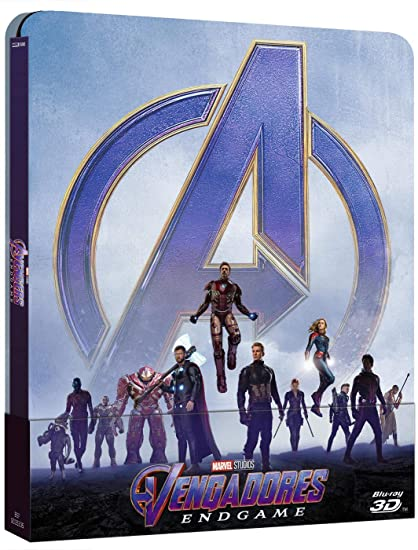 Vengadores: Endgame - Steelbook Blu-ray, 3D Blu-ray: Amazon.es: Robert Downey Jr., Chris Evans, Mark Ruffalo, Chris Hemsworth, Scarlett Johansson, Jeremy Renner, Robert Downey Jr., Chris Evans, Mark Ruffalo, Chris Hemsworth, Scarlett Johansson,